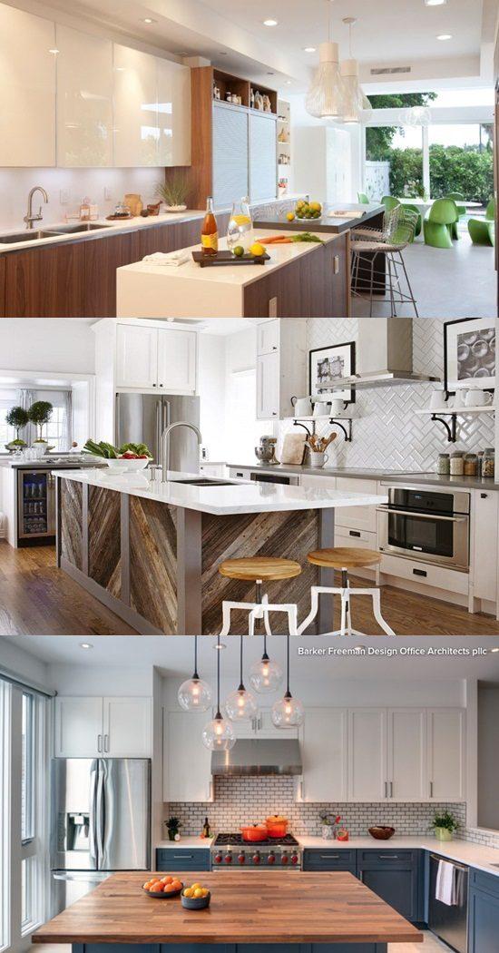 Interior Kitchen Design With Tv Room: 8 Unconventional Kitchen Cabinet Designs