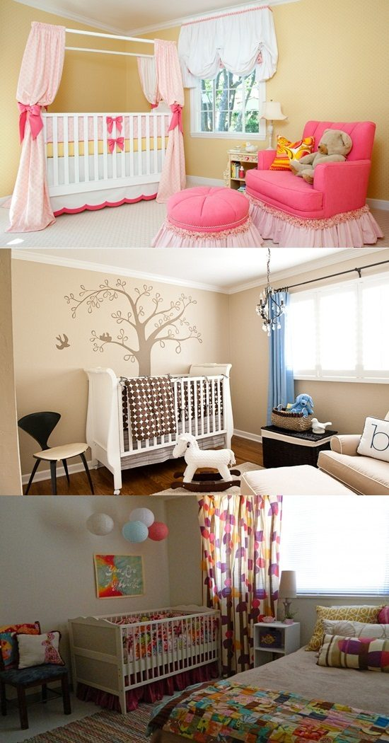 Colorful and whimsical nursery decorating ideas interior for Colorful whimsical living room
