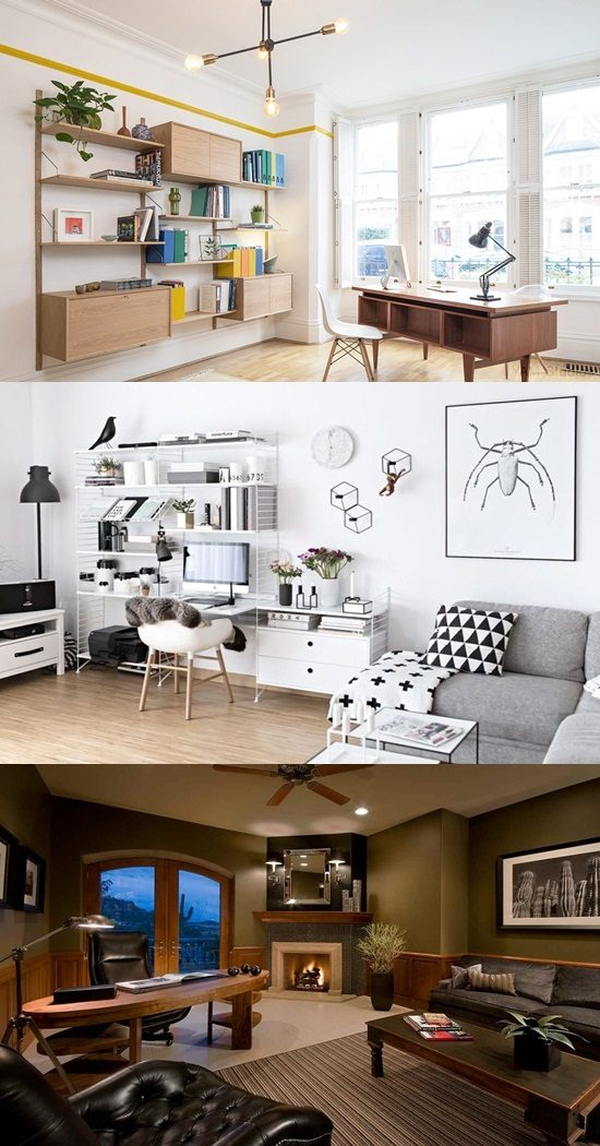 Fabulous Home Office Desk Designs for Living Rooms - Interior design