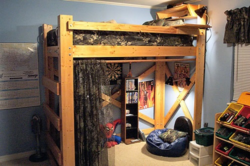 how to make your own loft bed in easy 5 steps interior