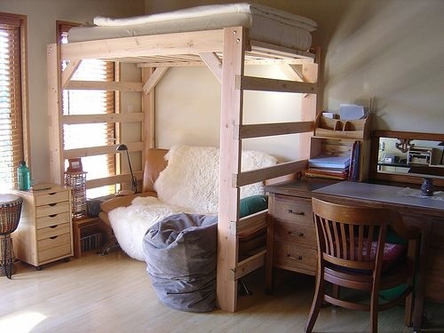Now, you have your own loft bed cheaper and better than anything you ...