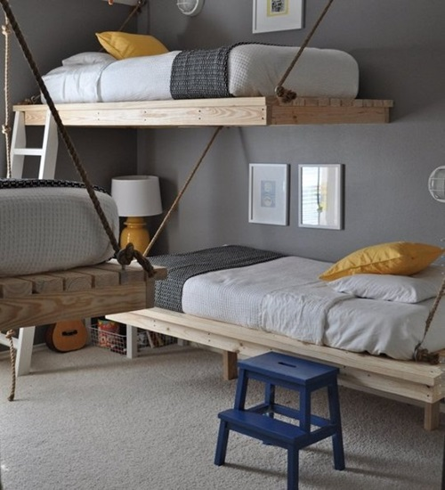 Design My Own Bedroom: How To Make Your Own Loft Bed In Easy 5 Steps
