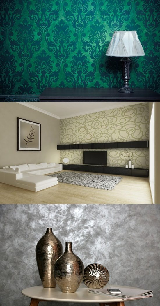 why you should choose wallpapers instead of paint interior design. Black Bedroom Furniture Sets. Home Design Ideas