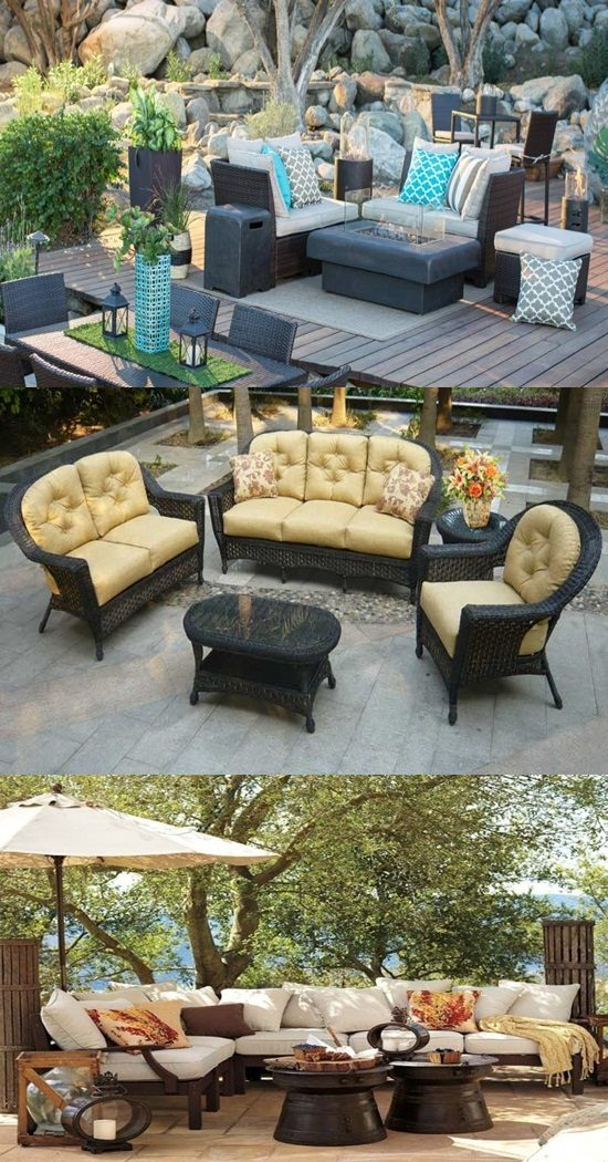 The best materials and ideas for your outdoor furniture for Best outdoor furniture material