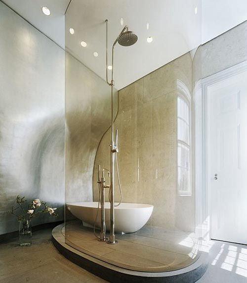 7 Impressive Shower Head Designs For A Relaxing Bathroom Interior Design