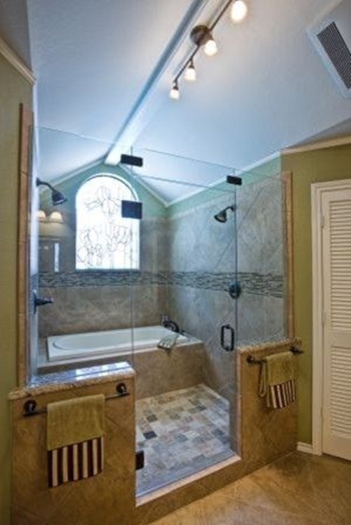 shower head designs for a relaxing bathroom interior design