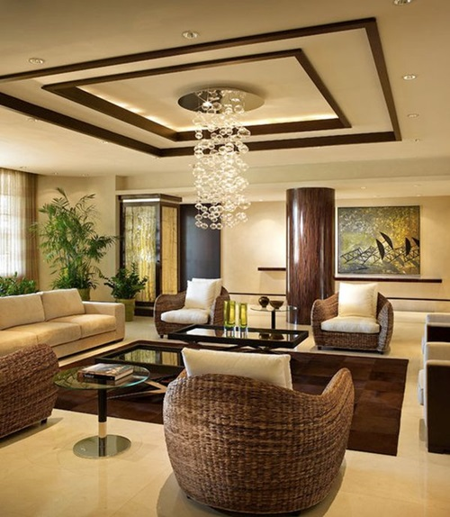 Amazing ceiling decorations for your modern home interior design - Awesome home interiors decorations in modern setting ...