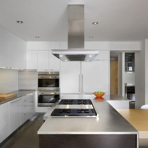Amazing Kitchen Countertop Mixed Material Design Ideas - Interior ...