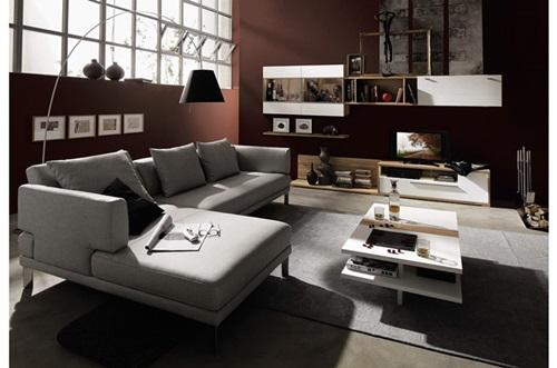 Amazing Modern Living Room Sofa Designs