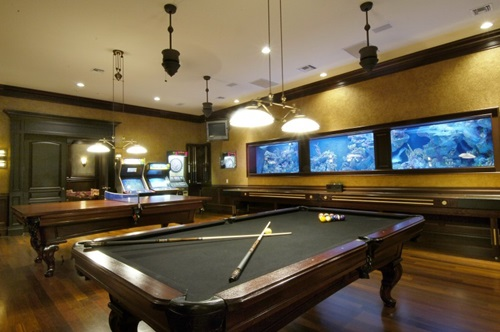 Billiard Room Decorating Ideas House Design And Decorating Ideas