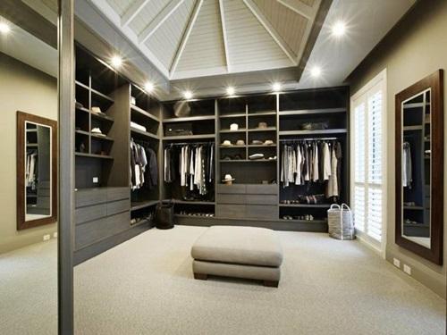 Cool Masculine Walk In Closet Ideas Interior Design