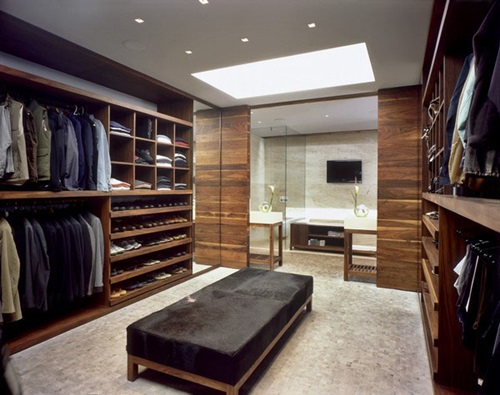 Cool Masculine Walk-in Closet Ideas