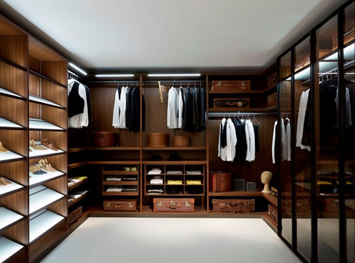 ... Cool Masculine Walk-in Closet Ideas ...