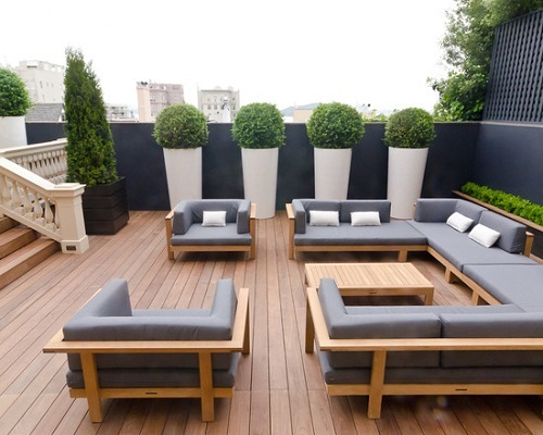 Creative outdoor furniture design ideas interior design for Outdoor deck furniture ideas