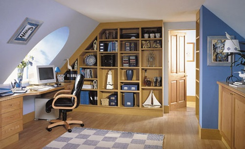 Creative study room design ideas interior design for Home study room ideas