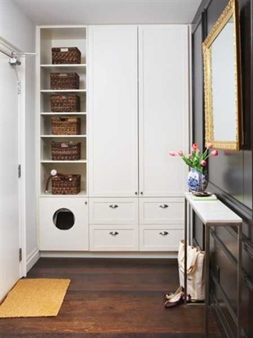 Foyer Closet Storage Ideas : Creative tips to organize your entryway interior design