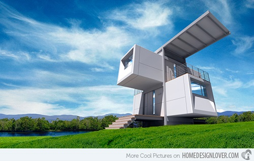 Distinctive Futuristic Home Design Ideas