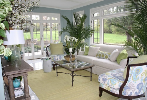 Fabulous sunroom decorating ideas interior design - Amazing image of sunroom interior design and decoration ...