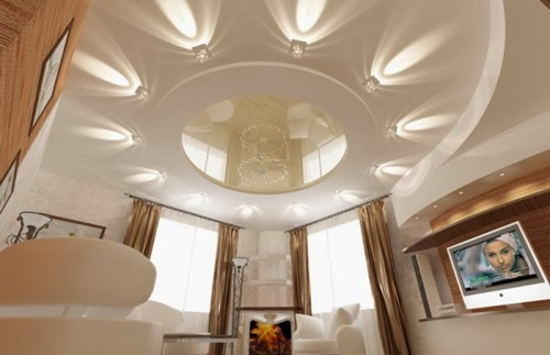 Impressive False Ceiling Designs with Accent Lights