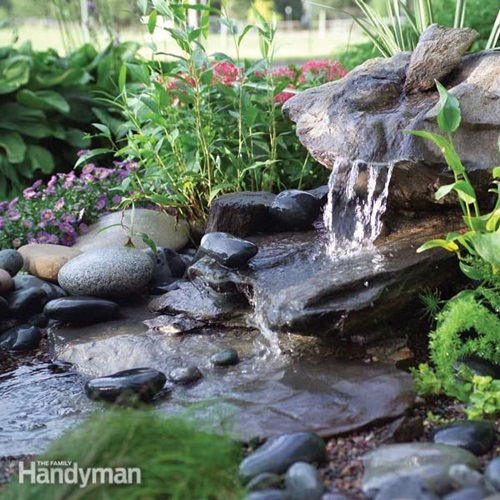 Impressive Handmade Outdoor Fountain Design Ideas - Interior design