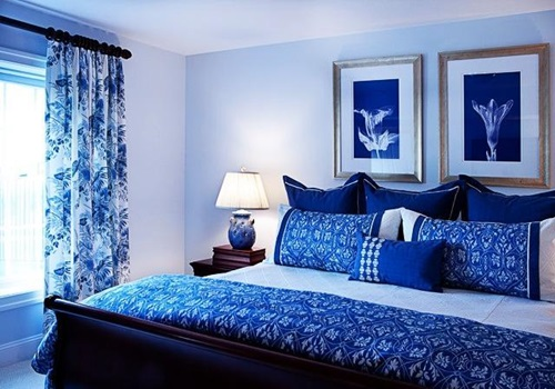 impressive white and blue bedroom decorating ideas interior design