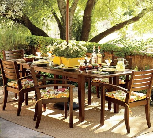 Outdoor Dining Area Ideas: Incredible Ultramodern Patio Dining Furniture Ideas