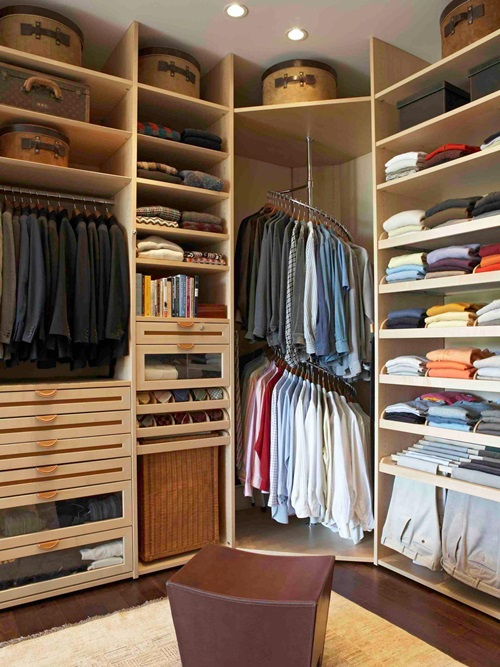 Innovative ways to use your closet as an additional for 4 space interior design