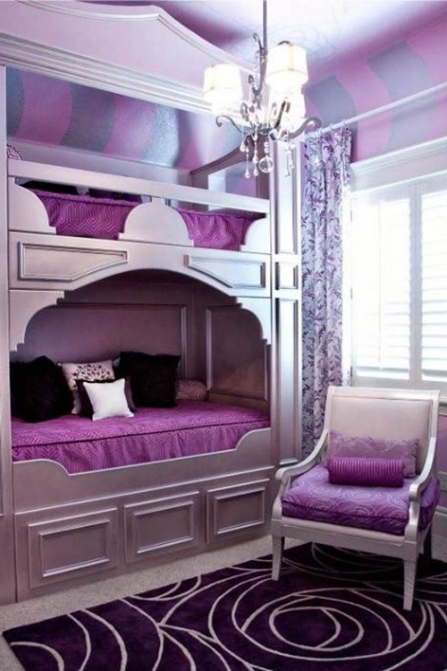 Modern Girls Bedroom: Inspiring Modern Teen Girl Bedroom Decorating Ideas