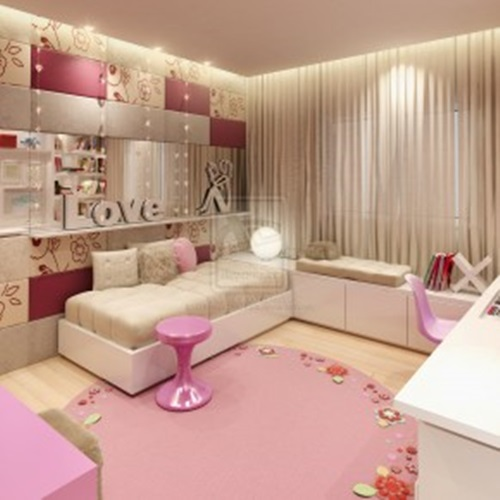 Inspiring modern teen girl bedroom decorating ideas for Teenage bedroom designs