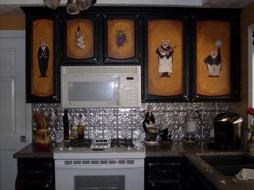 Interesting Functional and Decorative Kitchen Backsplash Tiles