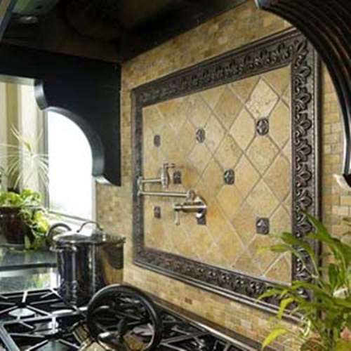 Interesting Functional And Decorative Kitchen Backsplash Tiles Interior Design
