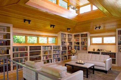 Stupendous Interesting Home Library Designs For Modern Homes Interior Design Largest Home Design Picture Inspirations Pitcheantrous