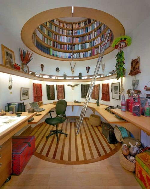 ... Interesting Home Library Designs for Modern Homes ...