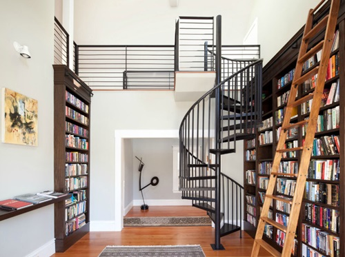 Interesting Home Library Designs for Modern Homes