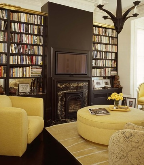 Home Design Ideas Videos: Interesting Home Library Designs For Modern Homes