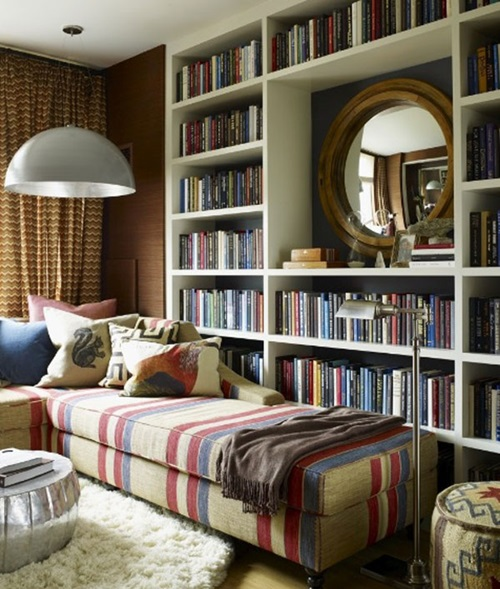 Interesting home library designs for modern homes for Home library ideas design