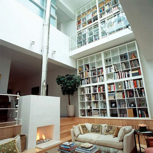 Interesting home library designs for modern homes for Home library designs interior design
