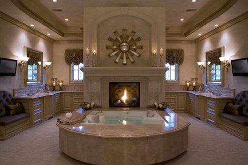 Luxurious and unique bathroom design ideas interior design for Cool bathroom decor ideas