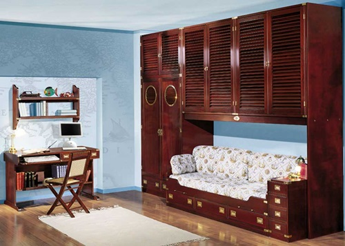 Excellent Sea Themed Furniture For Your Kids Bedroom Interior Design Largest Home Design Picture Inspirations Pitcheantrous