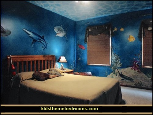 Remarkable Sea Themed Furniture For Your Kids Bedroom Interior Design Largest Home Design Picture Inspirations Pitcheantrous