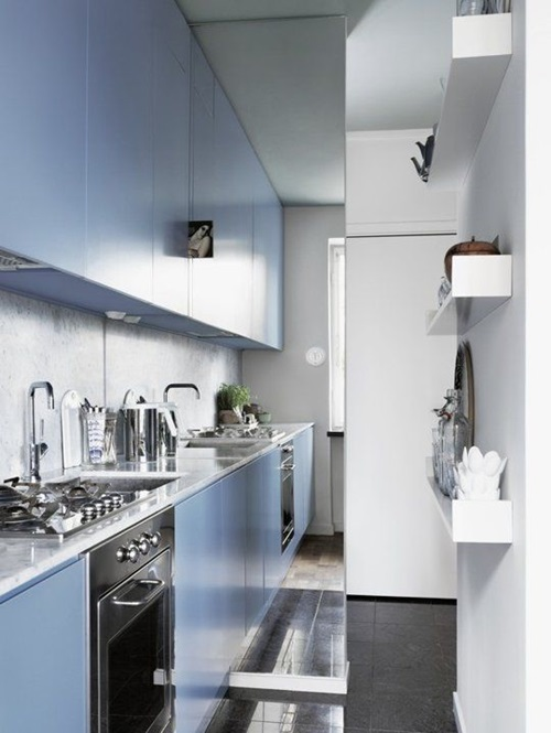 Smart ways to make use of the small kitchen space for Smart kitchen design small space