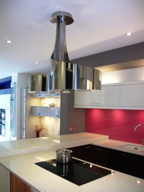 striking hood designs for modern kitchens - Hood Designs Kitchens