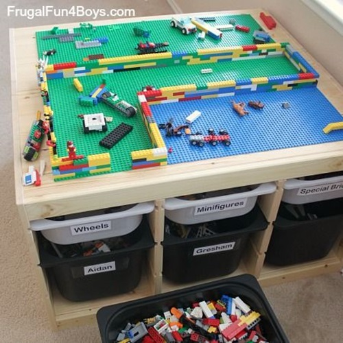 stunning lego table designs for your kids 39 playroom