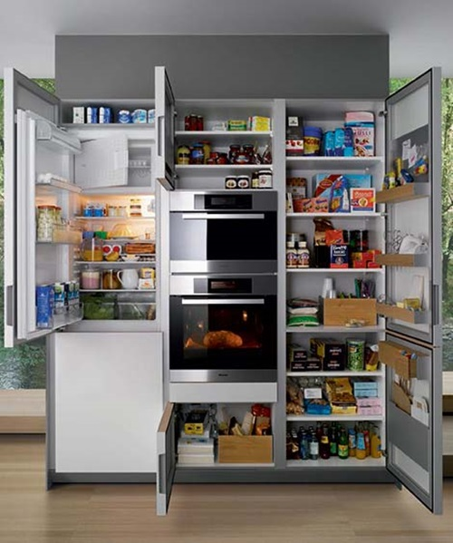Super clever shelving ideas for your kitchen interior design for Super small kitchen ideas