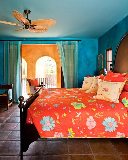 Tropical theme bedroom decorating ideas interior design for Interior theme ideas