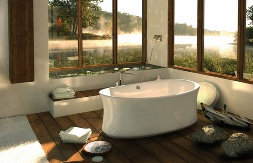 Unique Bathtub Designs for an Enjoying Bathing Experience
