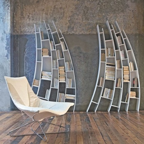 Unique Ways to Design Your Lovely Bookcase