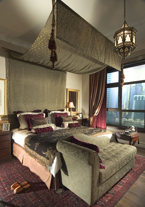 Unique ways to incorporate a moroccan decor to your modern for Bedroom nothing lasts