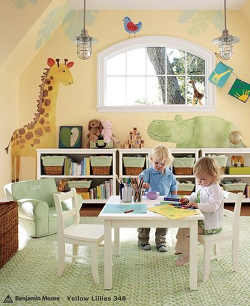 ... Whimsical Ideas To Design Your Kids Playroom ...