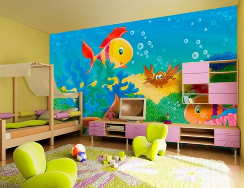 Whimsical Ideas to Design Your Kids Playroom